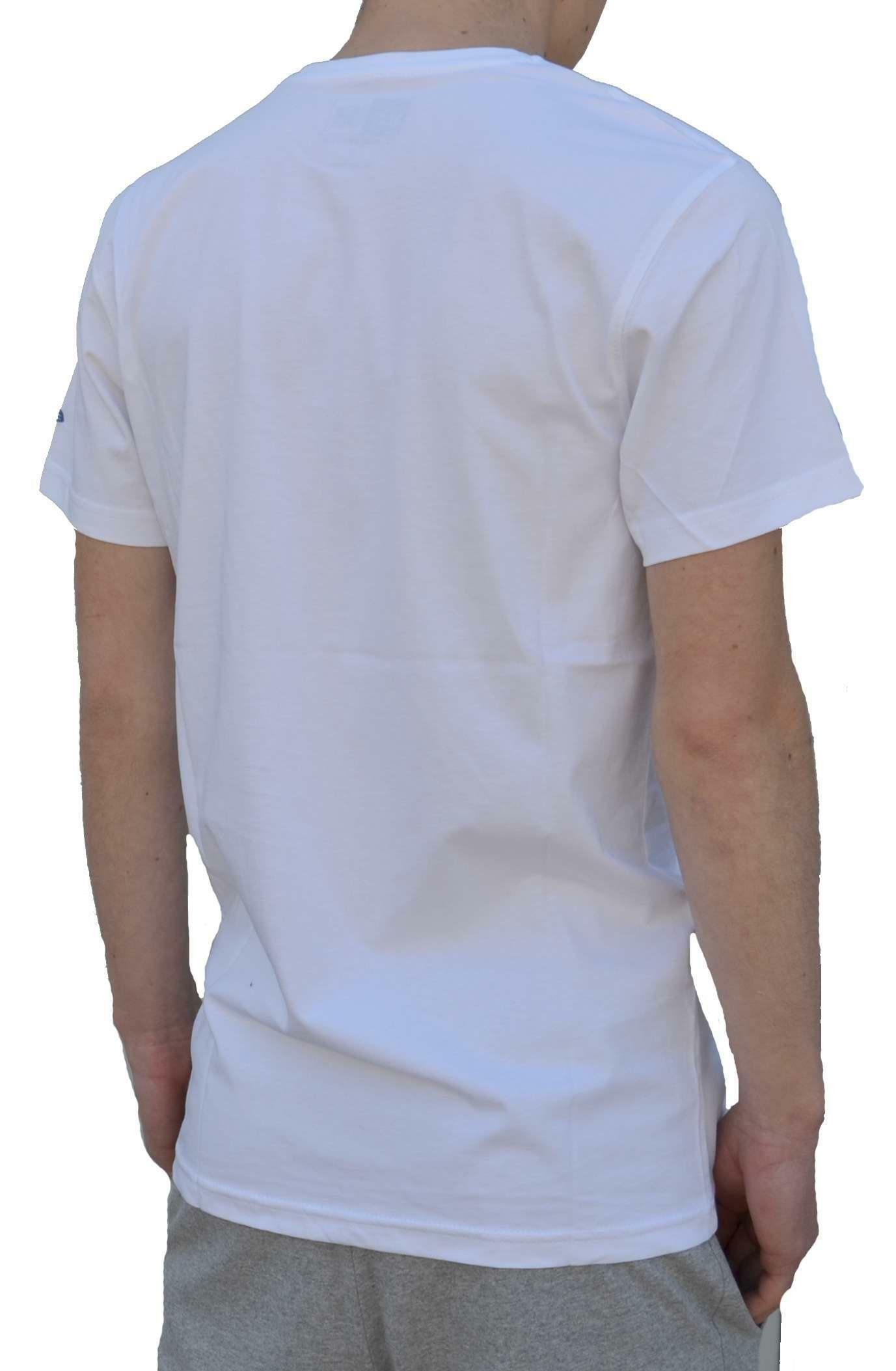 new era new era ne slam dunk tee t-shirt uomo bianca