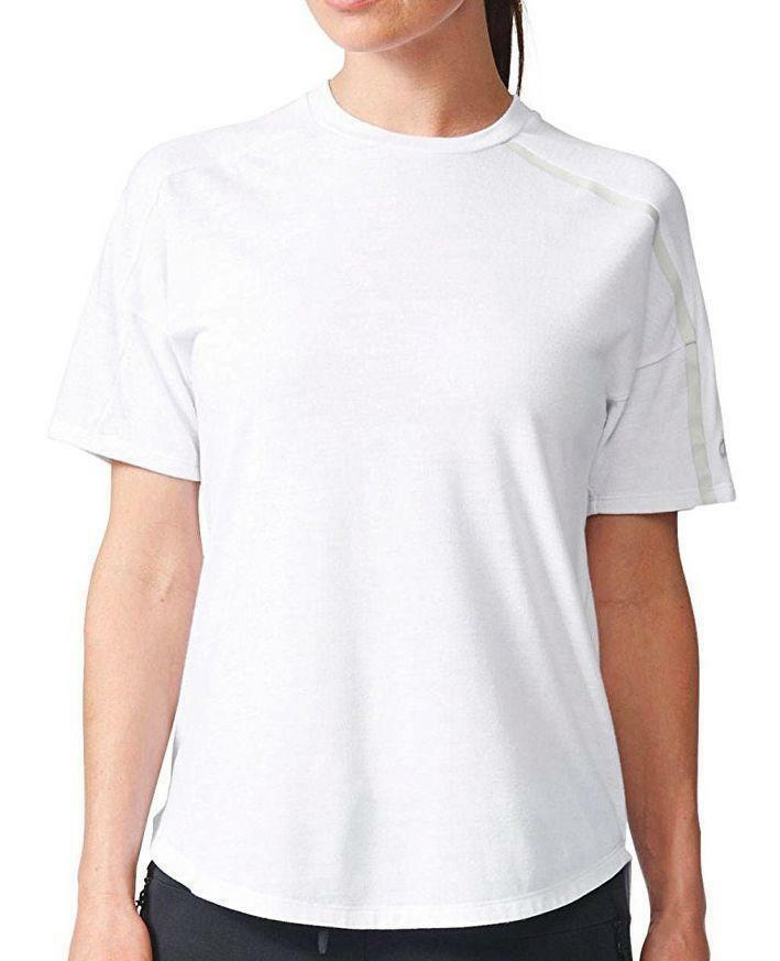 adidas adidas zne tee 2 wool t-shirt donna bianca ce9558