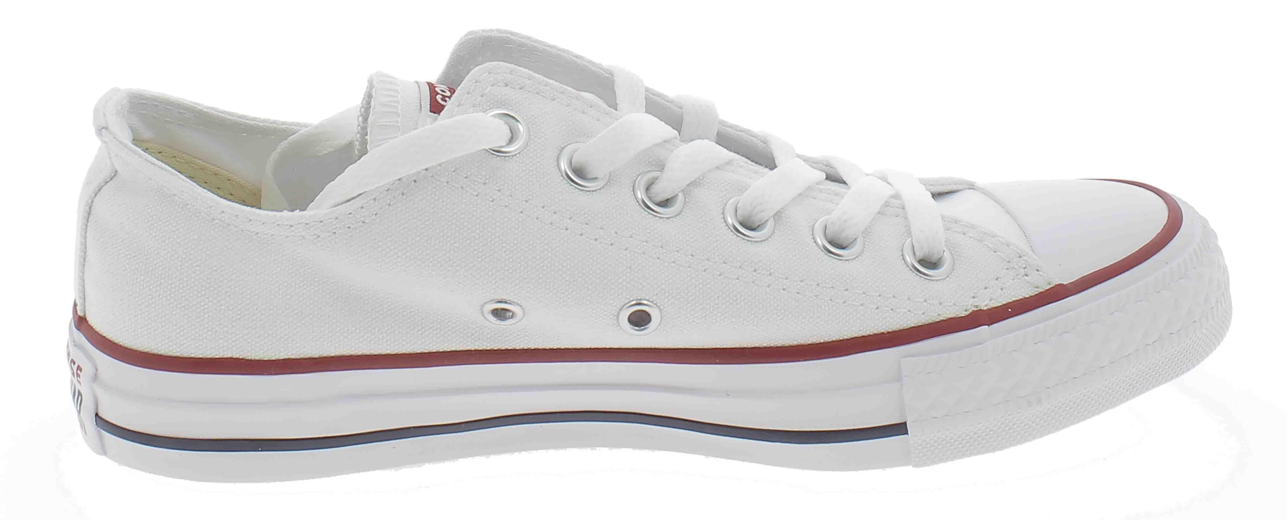 cf83d350659f39 CONVERSE ALL STAR OX OPTICAL SPORT SHOES LOW WHITE M7652C