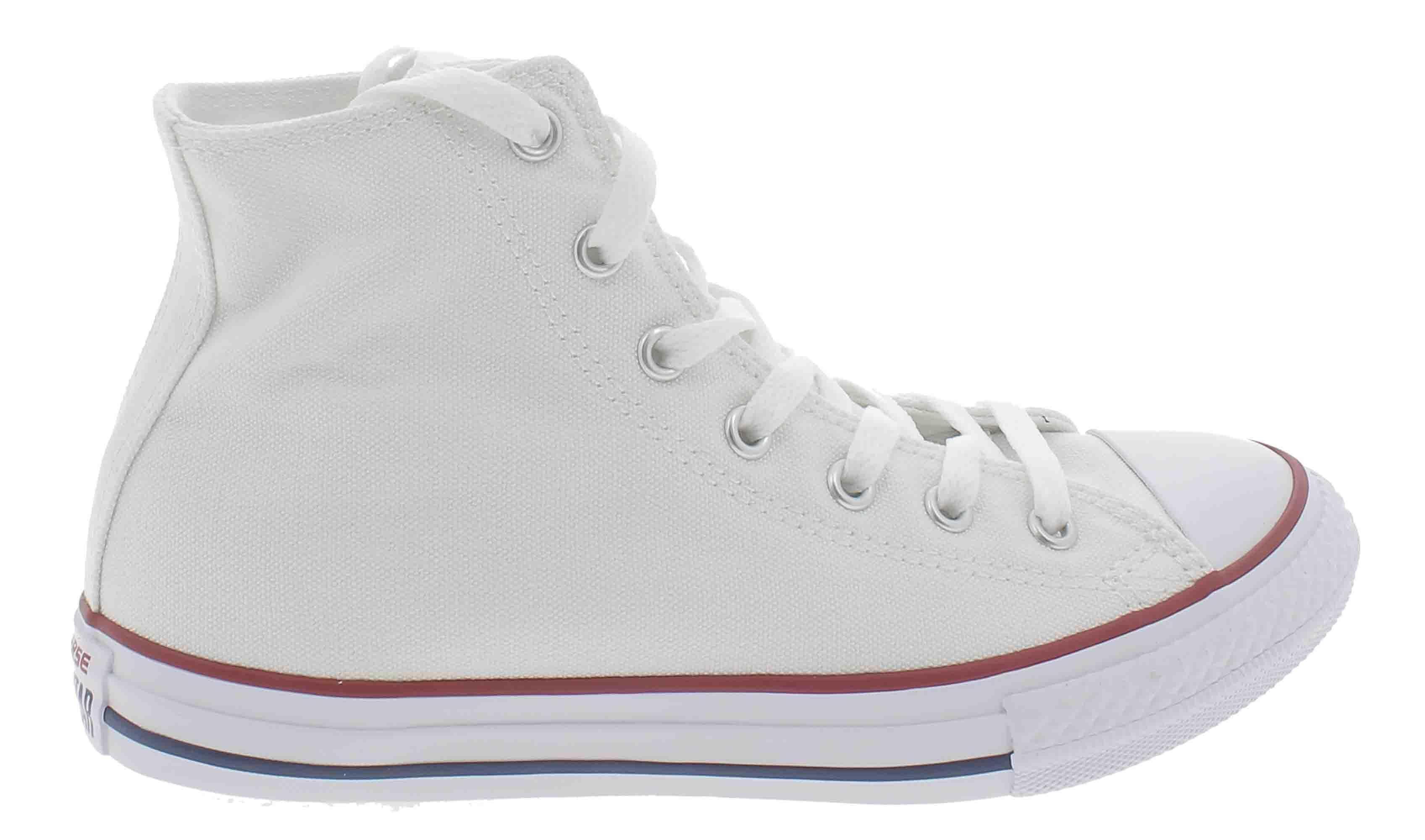 converse converse all star hi scarpe sportive alte bianche 7650