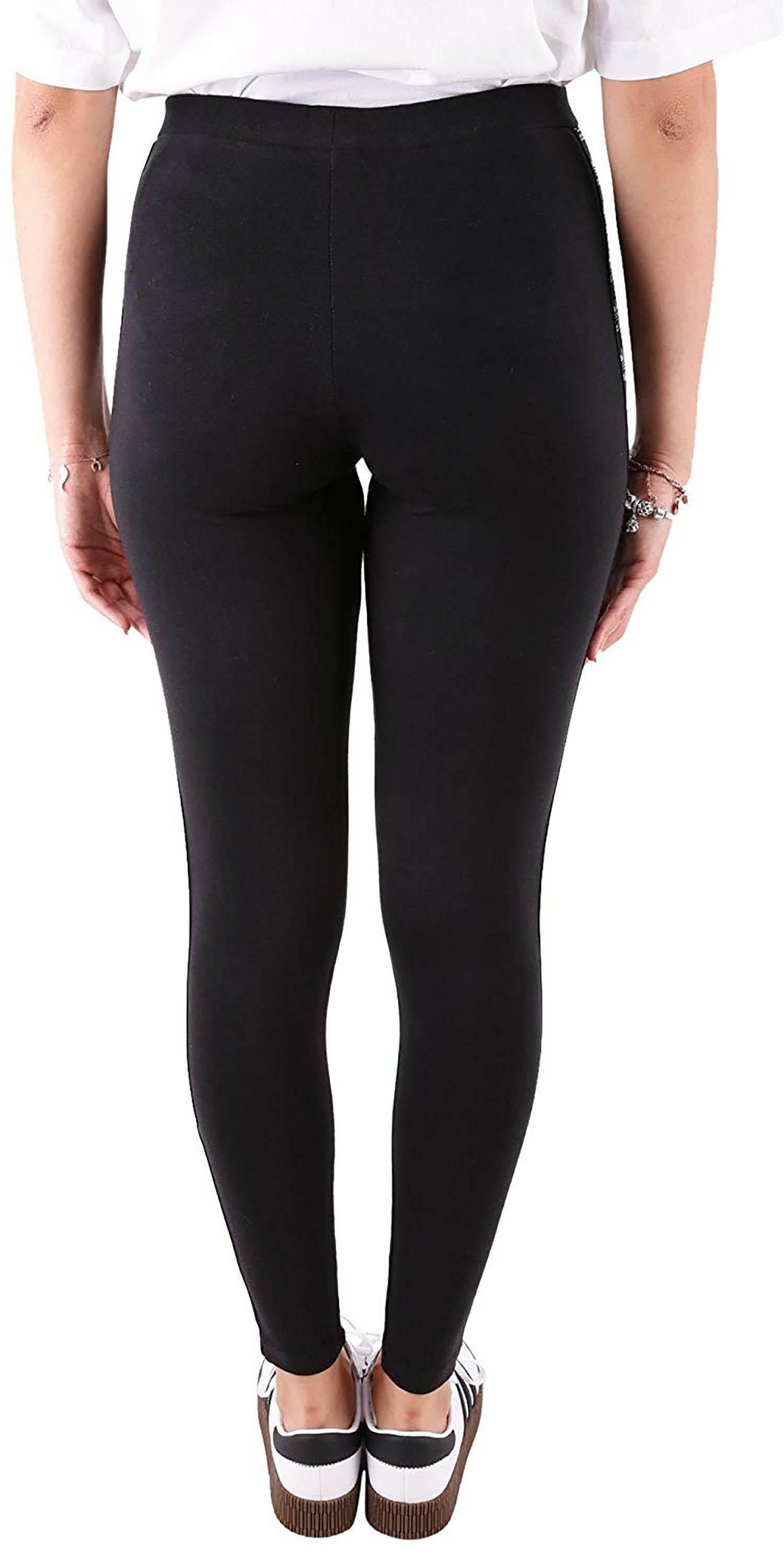 adidas adidas trf tight leggings donna neri dn8406