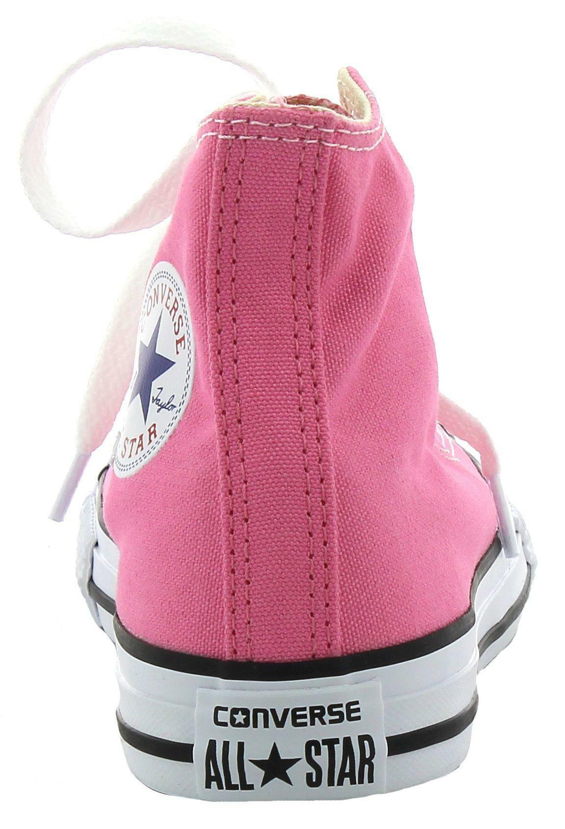 converse converse chuck taylor all star hi canvas scarpe bambina rosa