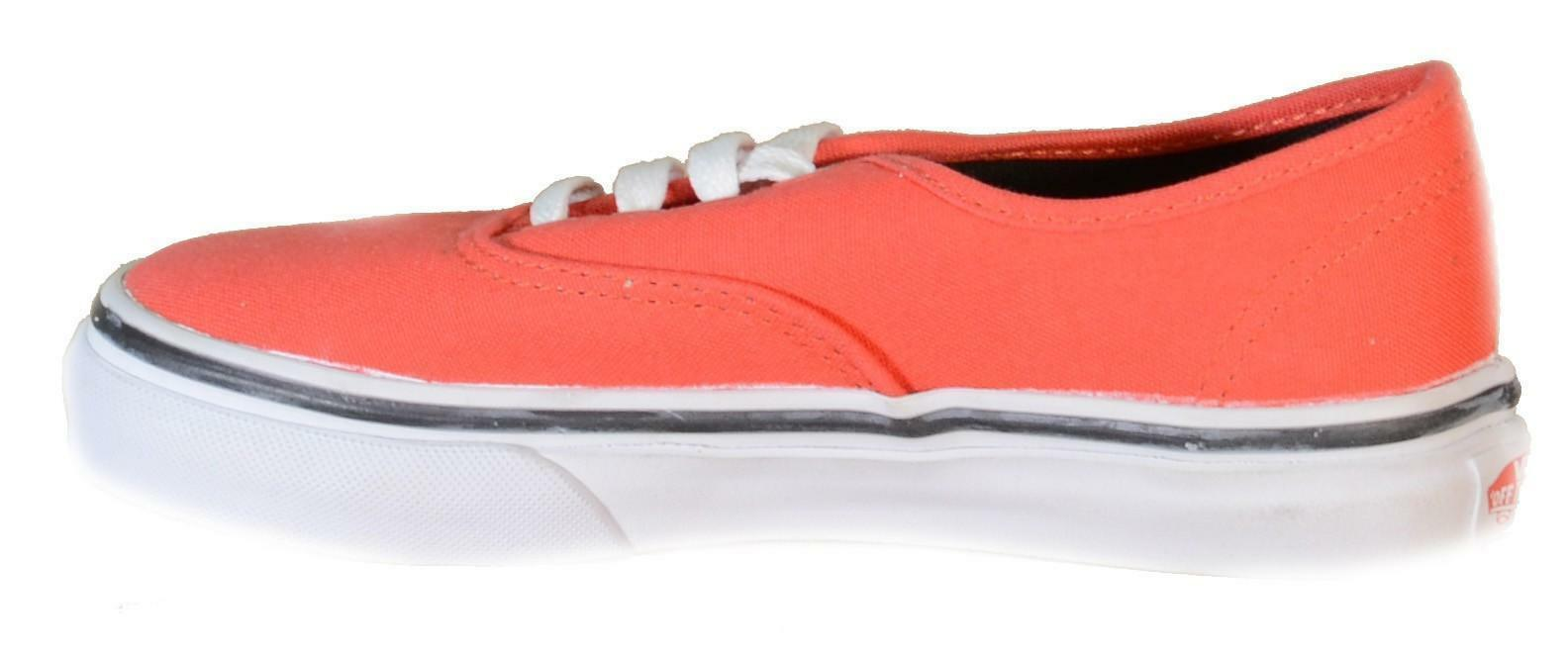 vans vans authentic scarpe sportive bambino rosse tela authentic