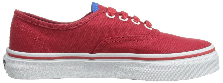 vans authentic scarpe sportive bambino rosse vn0ur8byq