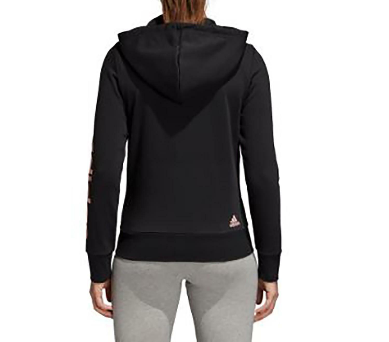 adidas adidas ess lin fz hd giacchetto donna nero di0119