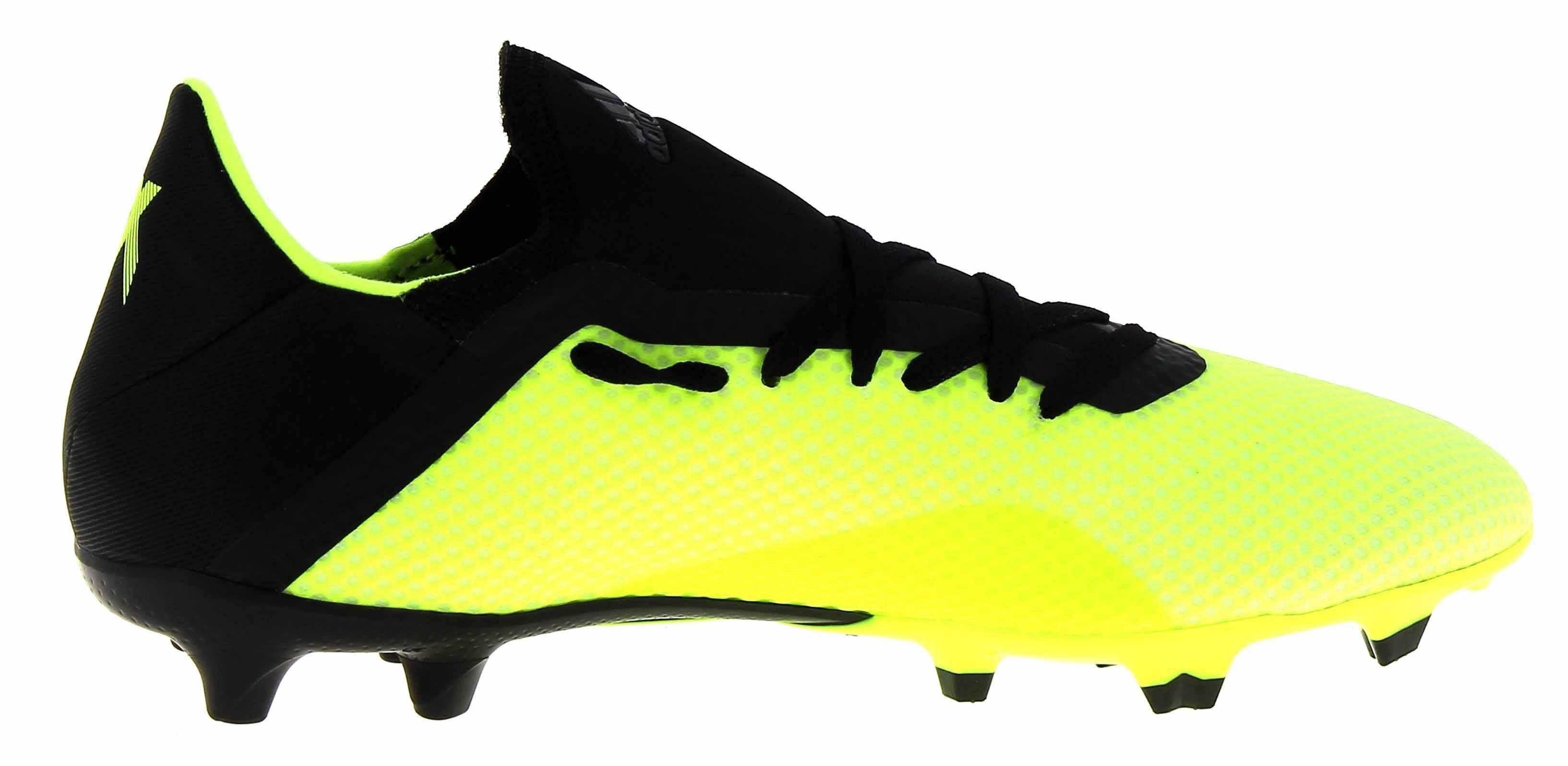 adidas adidas x 18.3 fg scarpini calcio uomo verde fluo db2183