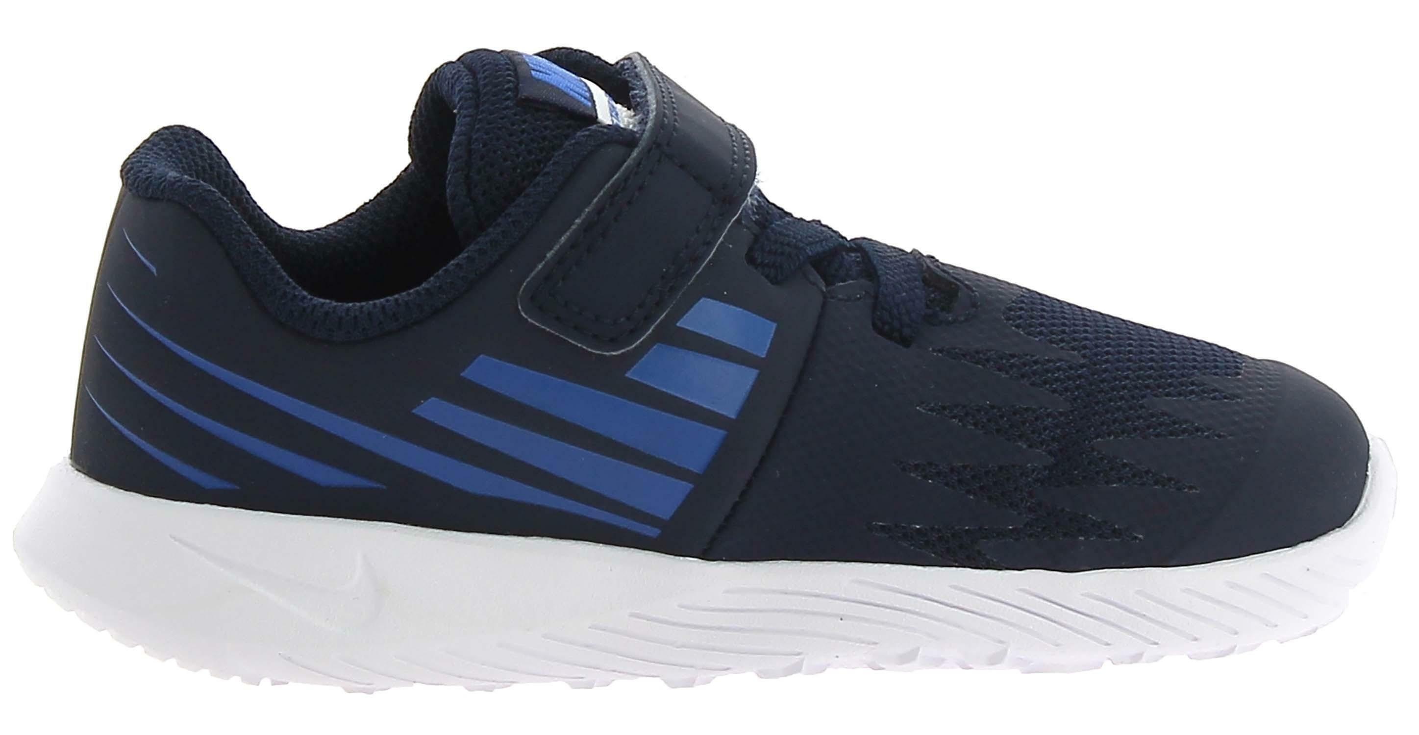 nike nike star runner tdv scarpe sportive bambino strappo blu 907255406
