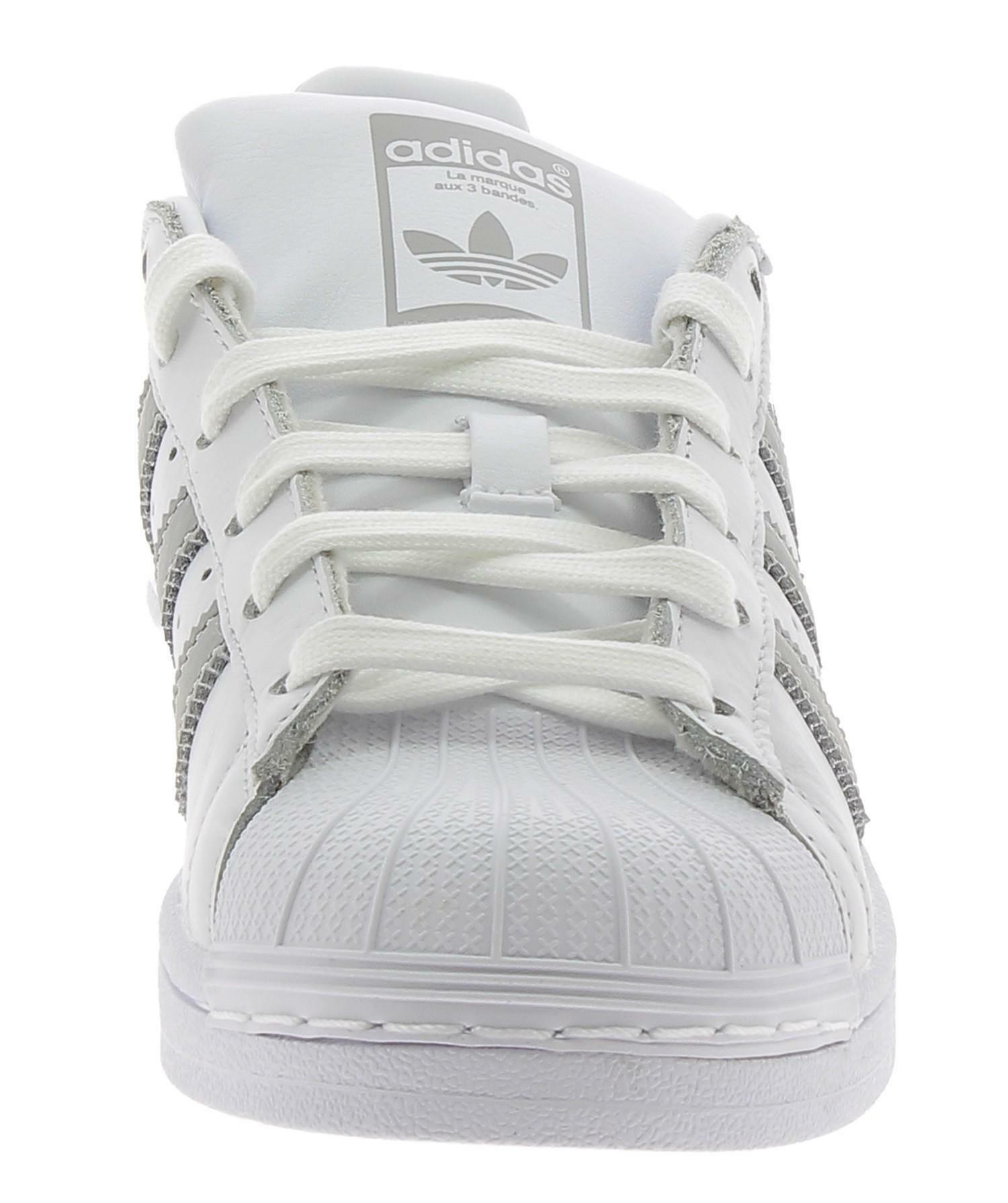 adidas adidas superstar w scarpe sportive donna bianche b42002