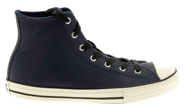 converse converse ctas hi scarpe sportive blu pelle 662809c