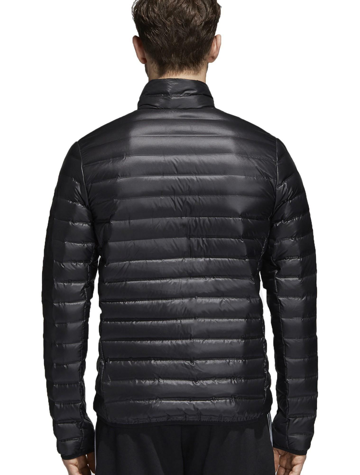 adidas adidas w varilite giacca piumino 100 grammi uomo nero bs1588