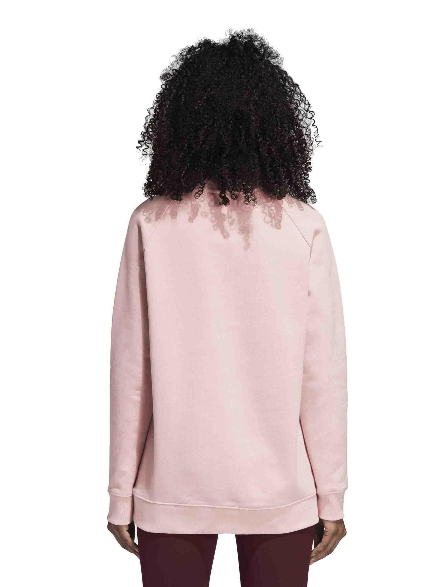 adidas adidas oversized sweat felpa donna rosa dh4432