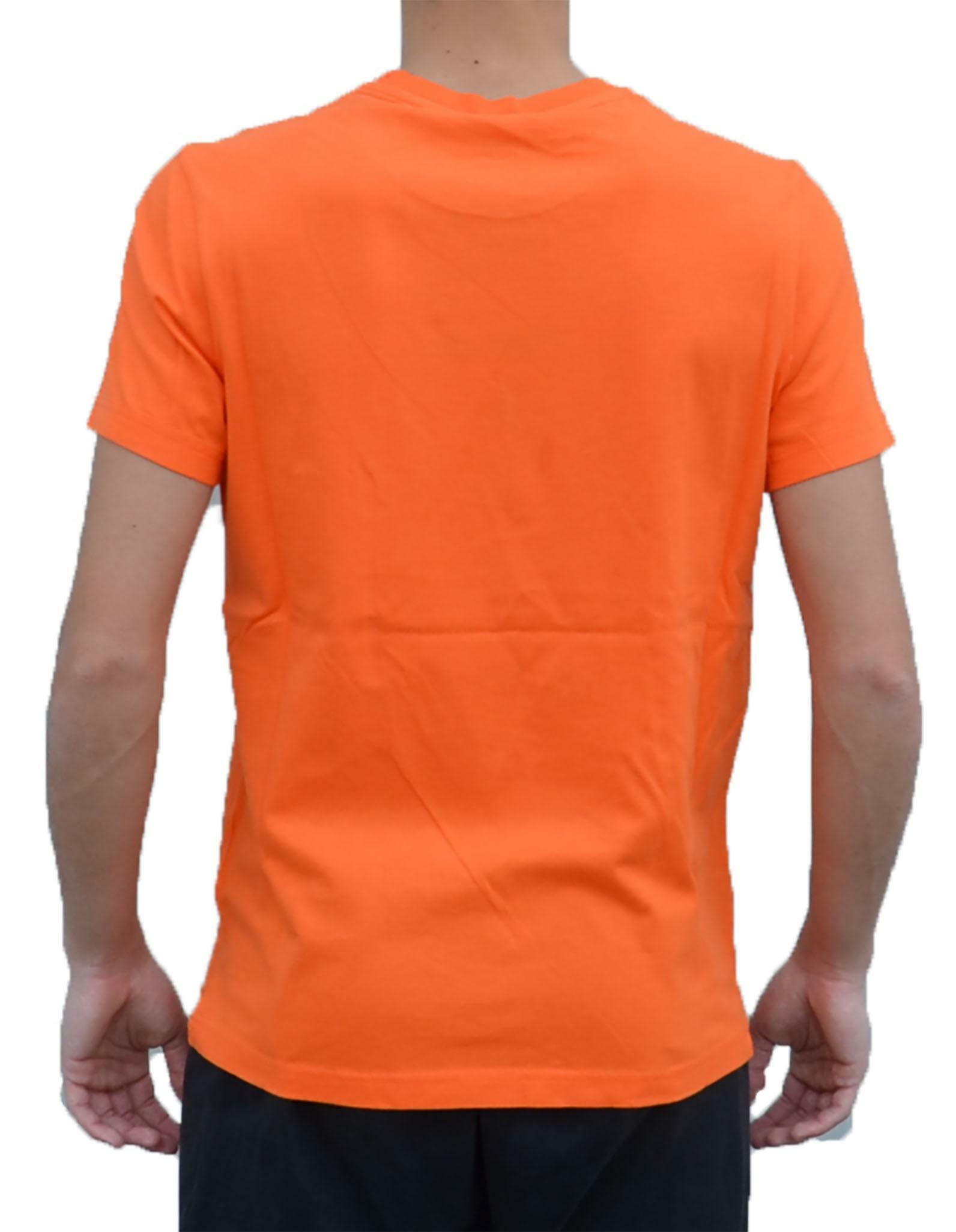 Détails sur CHAMPION T Shirt homme orange 212264OS005