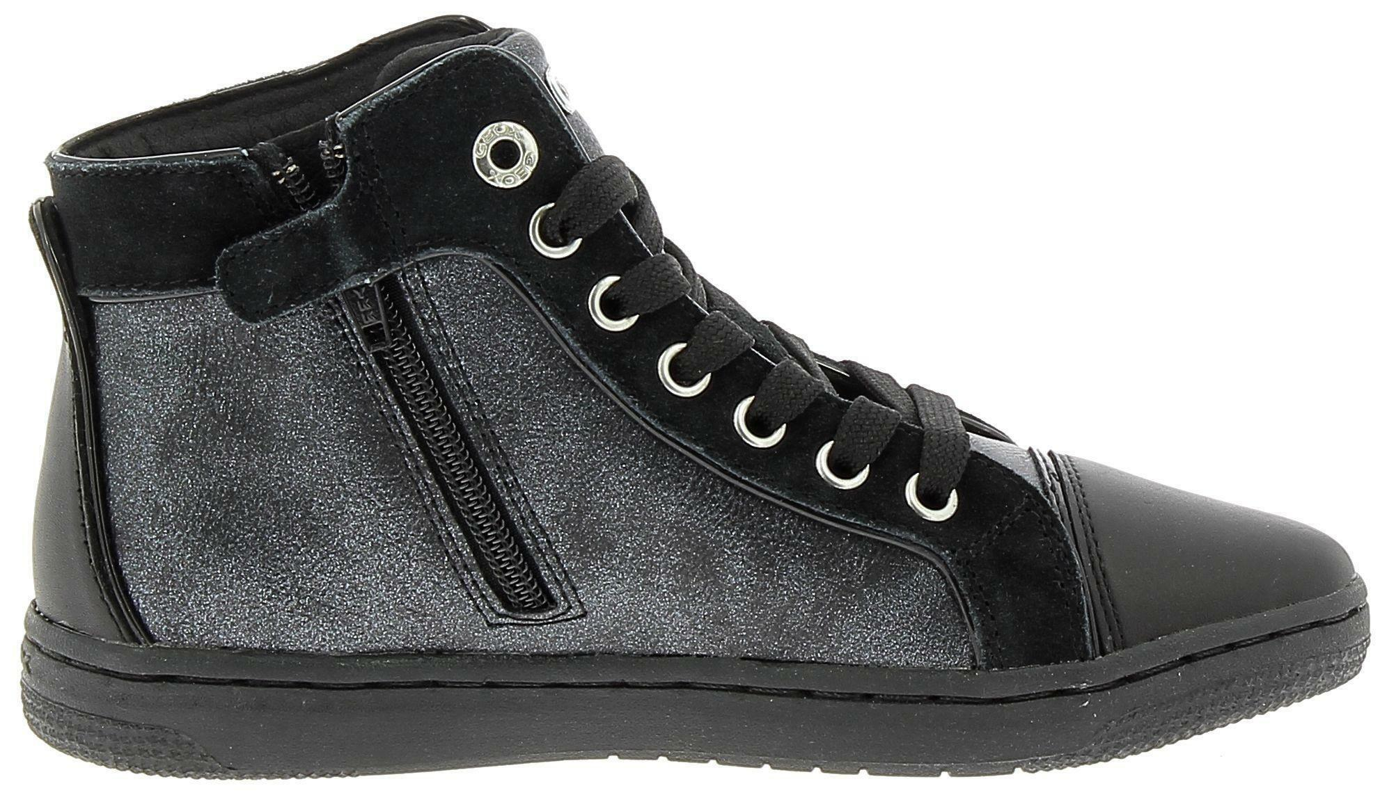 geox geox j creamy e scarpe sportive bambina nere