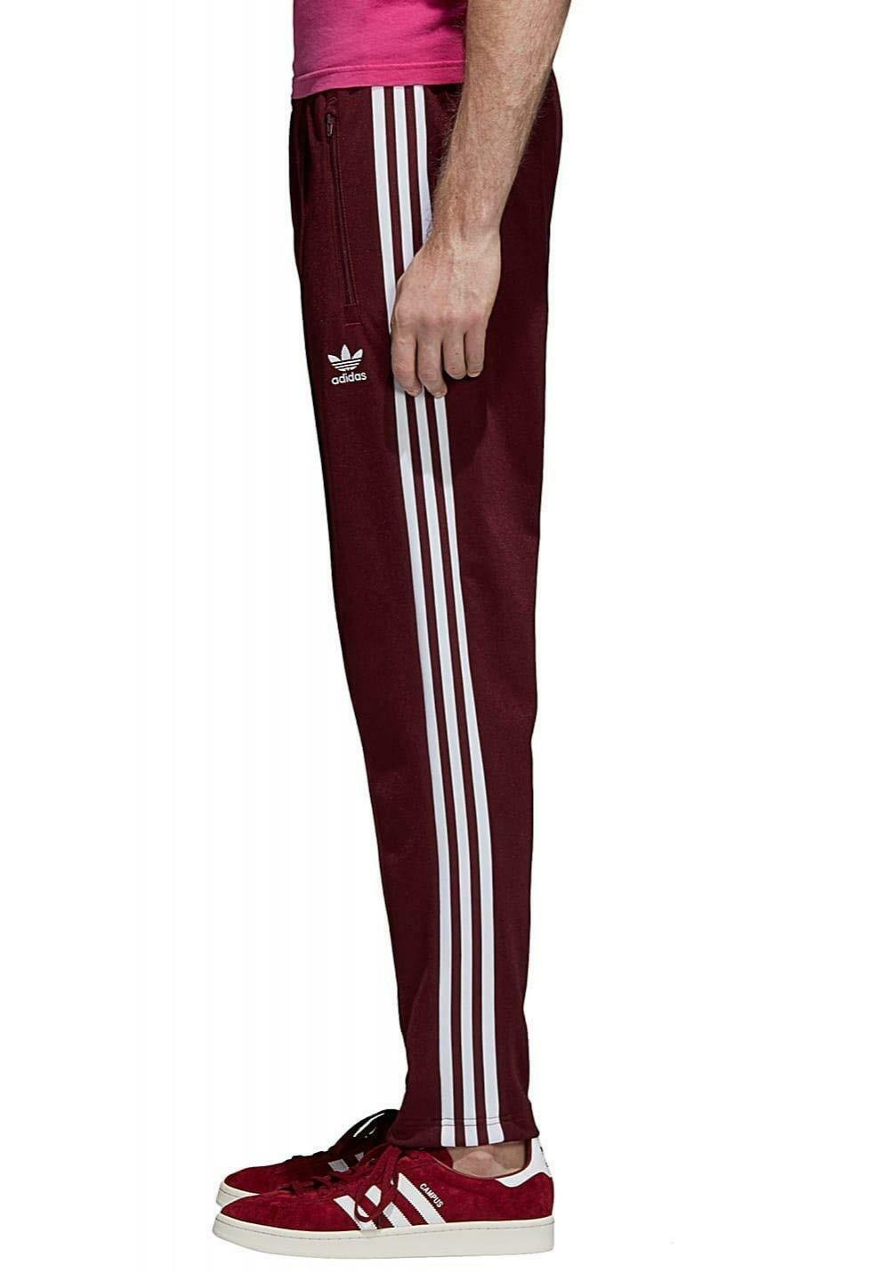 adidas pantaloni beckenbauer uomo