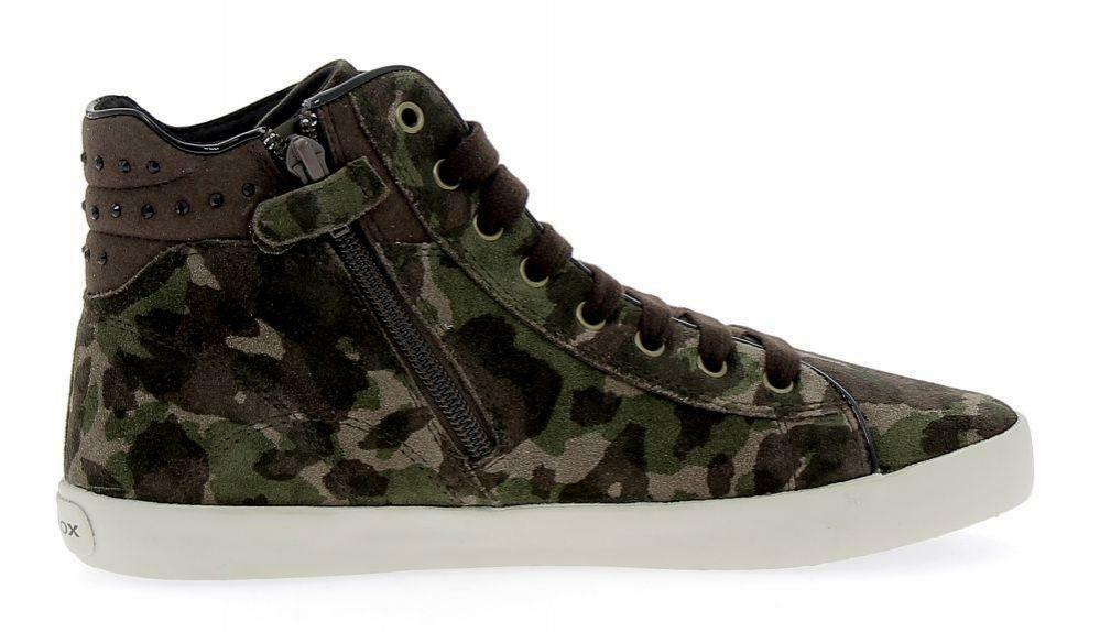 geox j kiwi scarpe sportive militari
