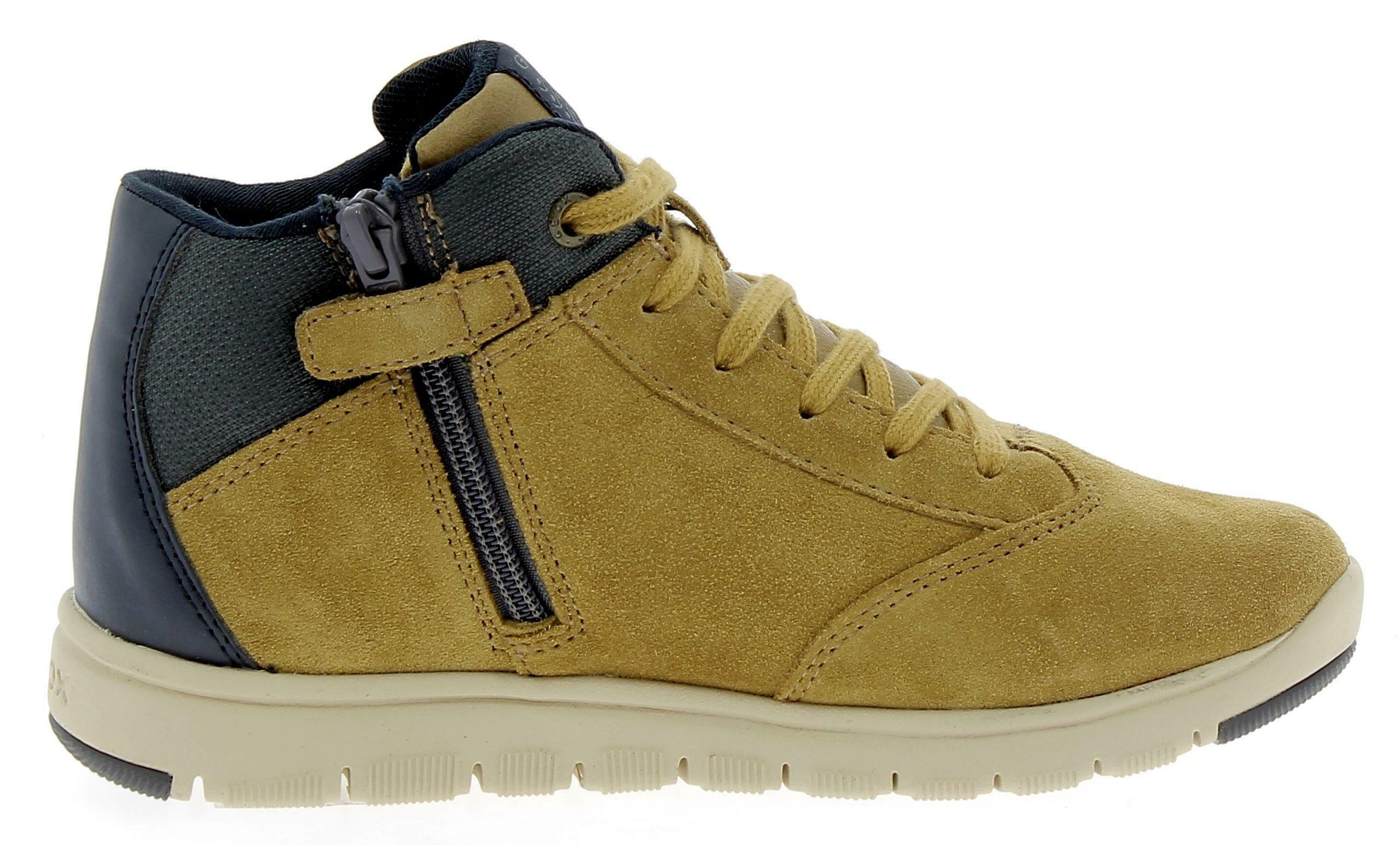 geox j xunday b scarpe bambino gialle