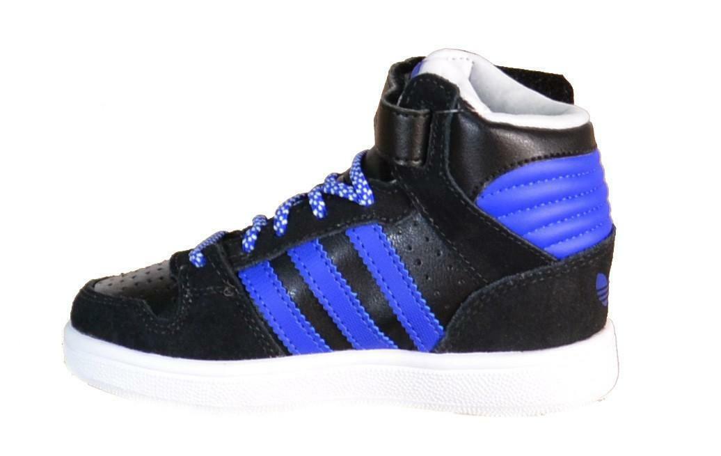 adidas originals adidas pro play 2 cf i scarpe bambino nere pelle lacci strappi b25722