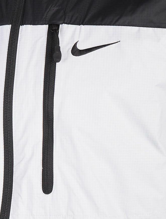 nike giacchetto ripiegabile nylon nero grigio 637741 010