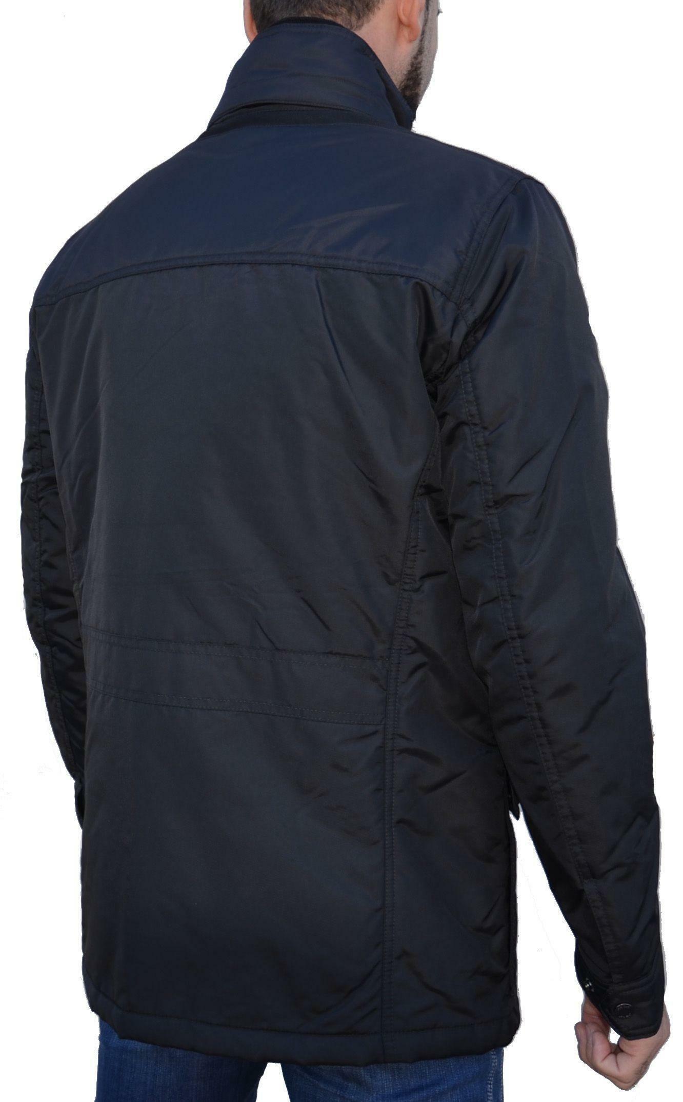 geox man jacket giubbotto uomo nero