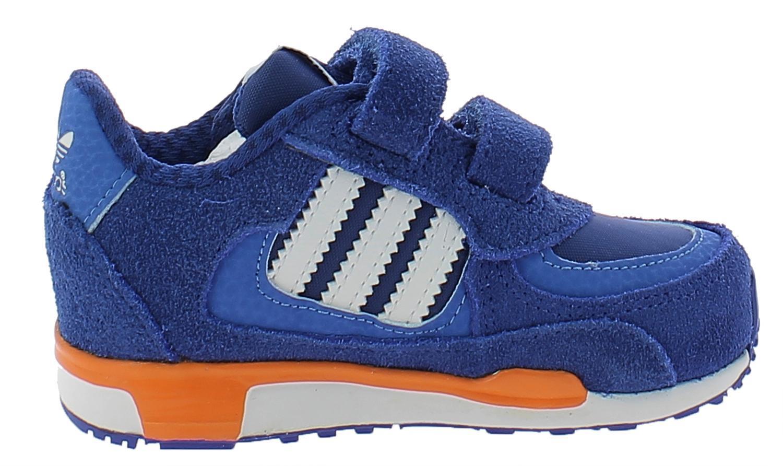 adidas zx 850 cf i scarpe sportive bambino blu pelle strappi m19744