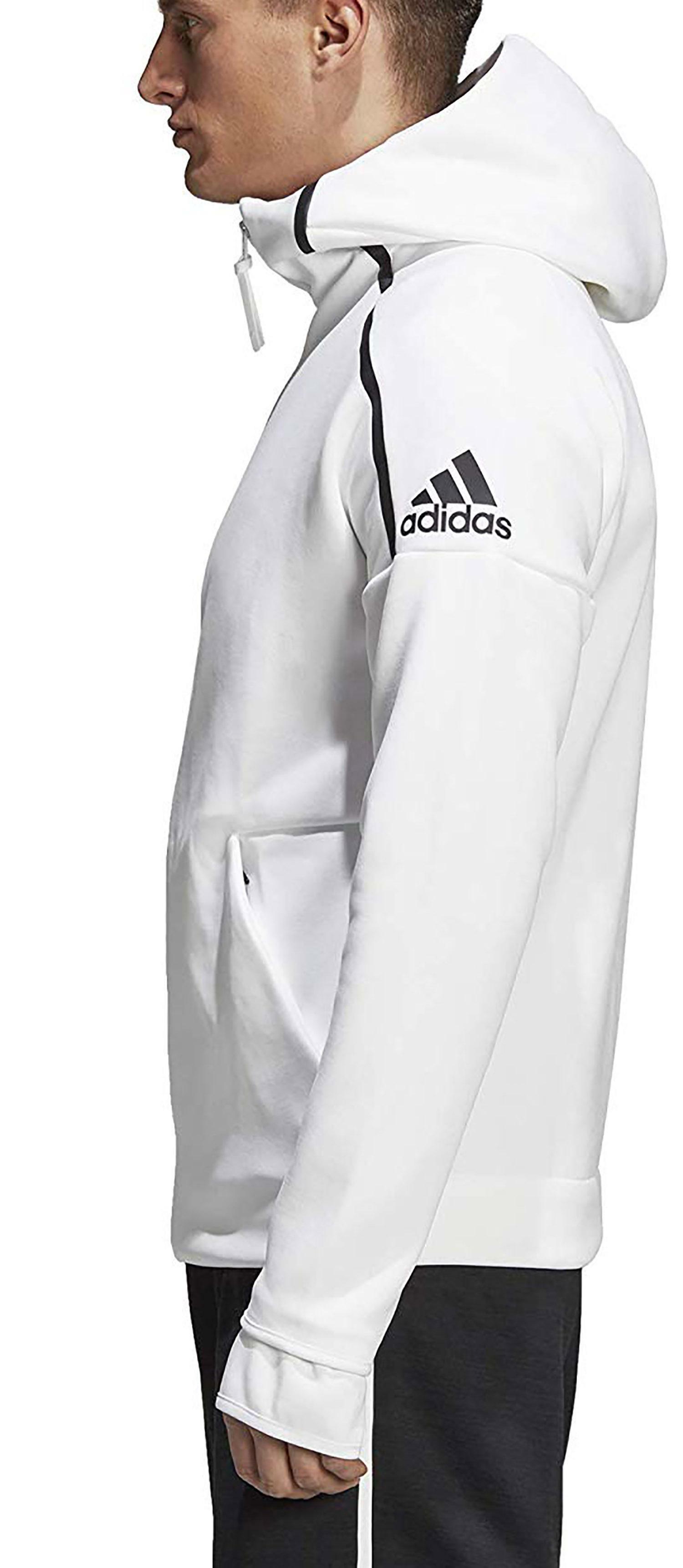 Felpa Adidas uomo ED7123 bianca AI19