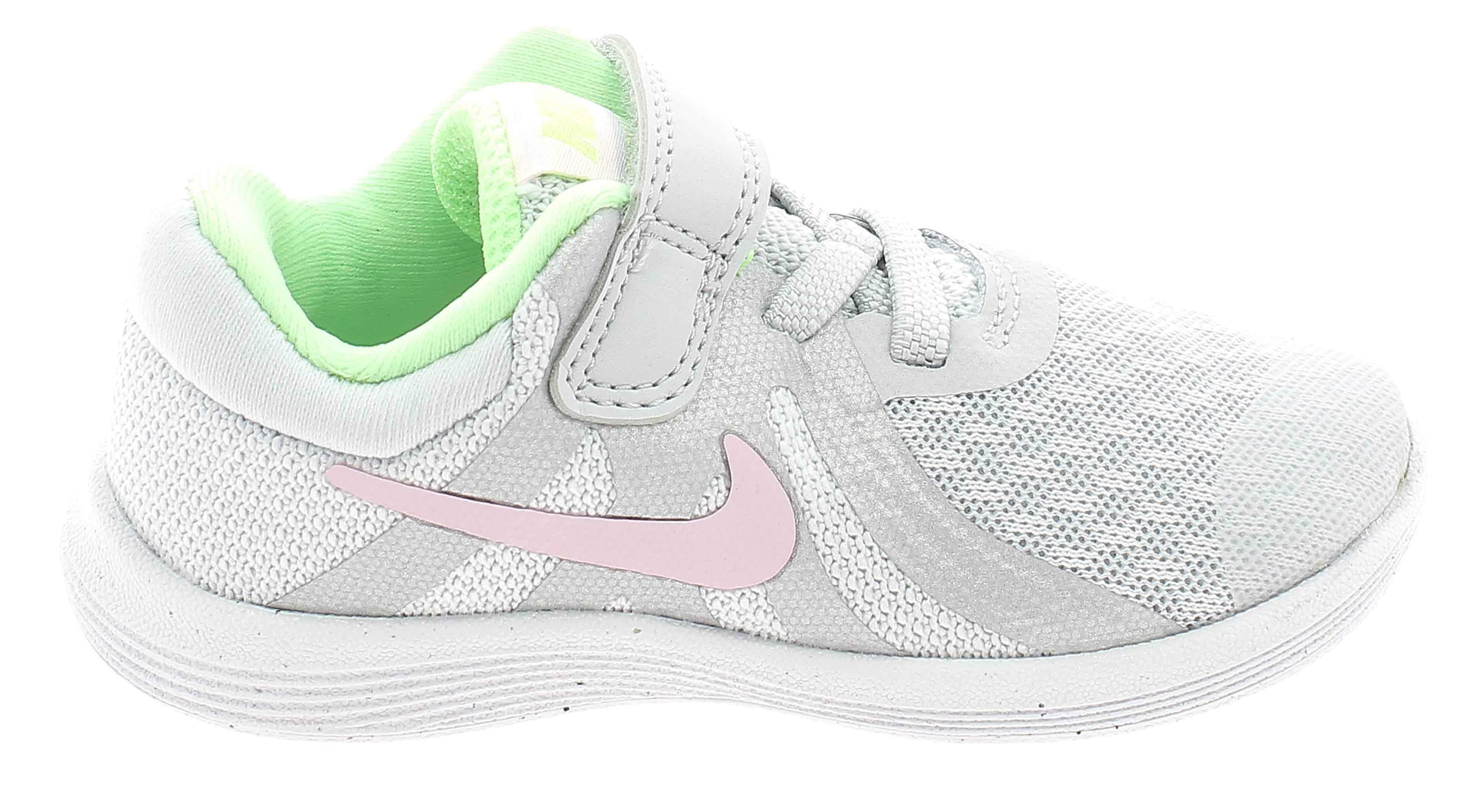 nike revolution 4 tdv scarpe sportive bambina grigie 943308006