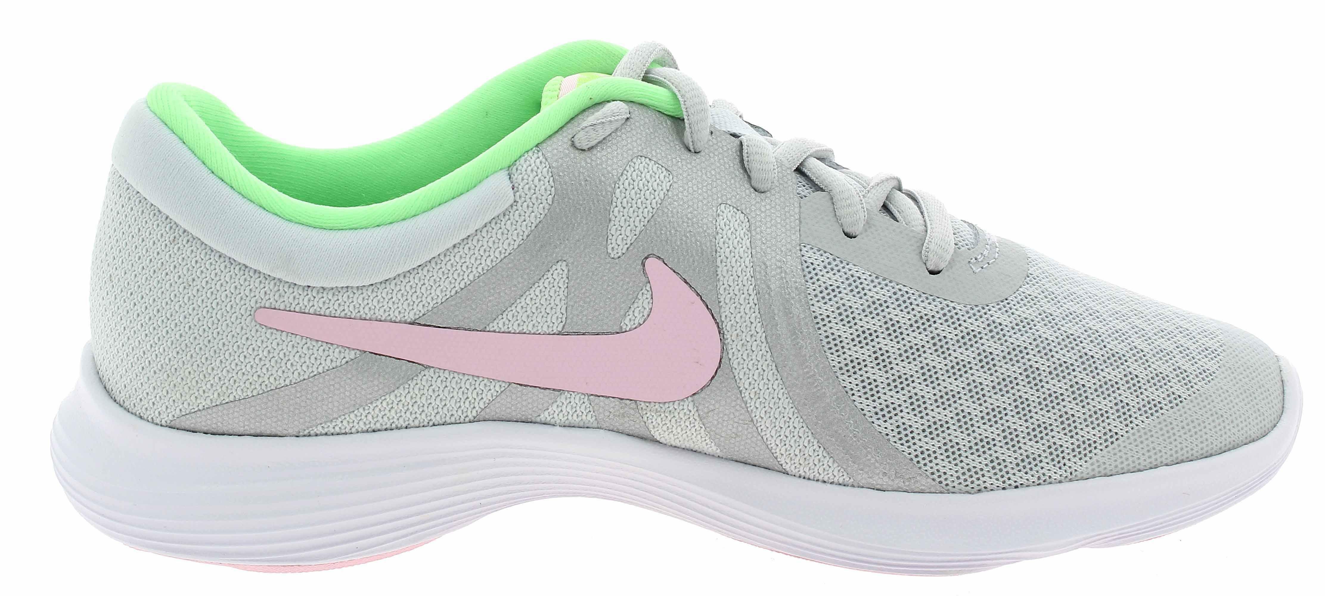 nike revolution 4 gs scarpe sportive donna grigie 943306006