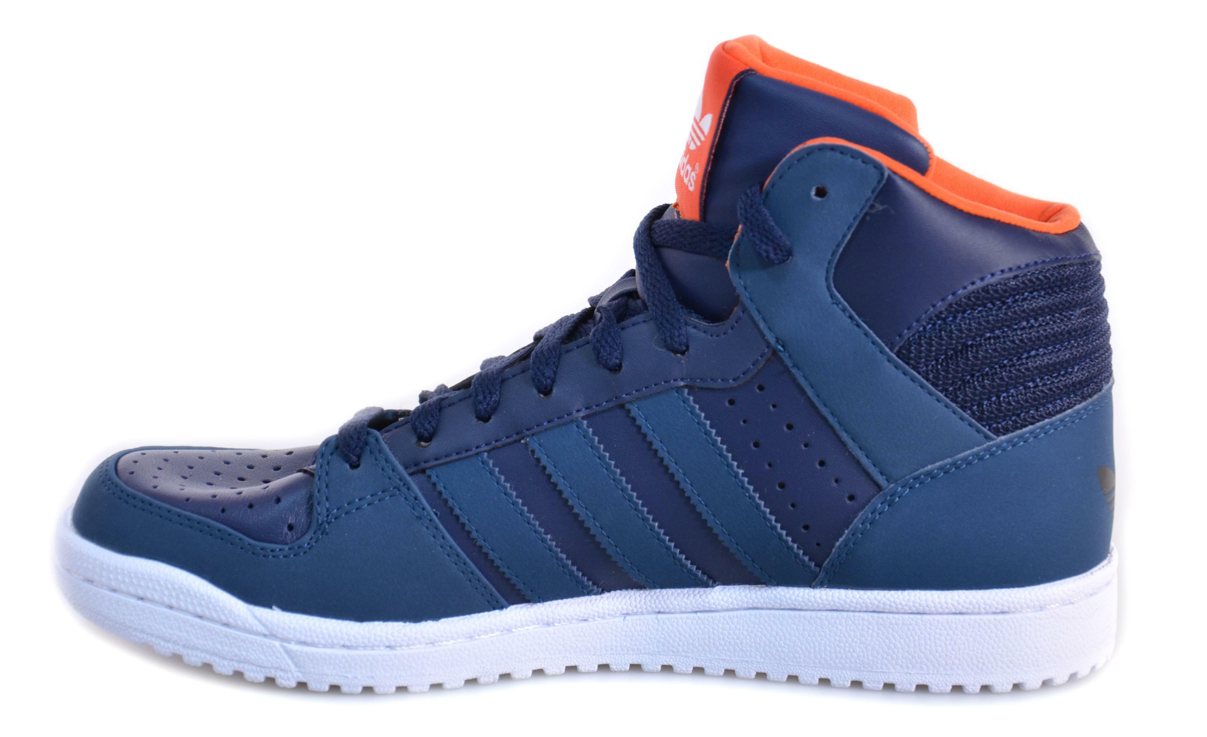 adidas pro play 2 scarpe uomo blu pelle m18238