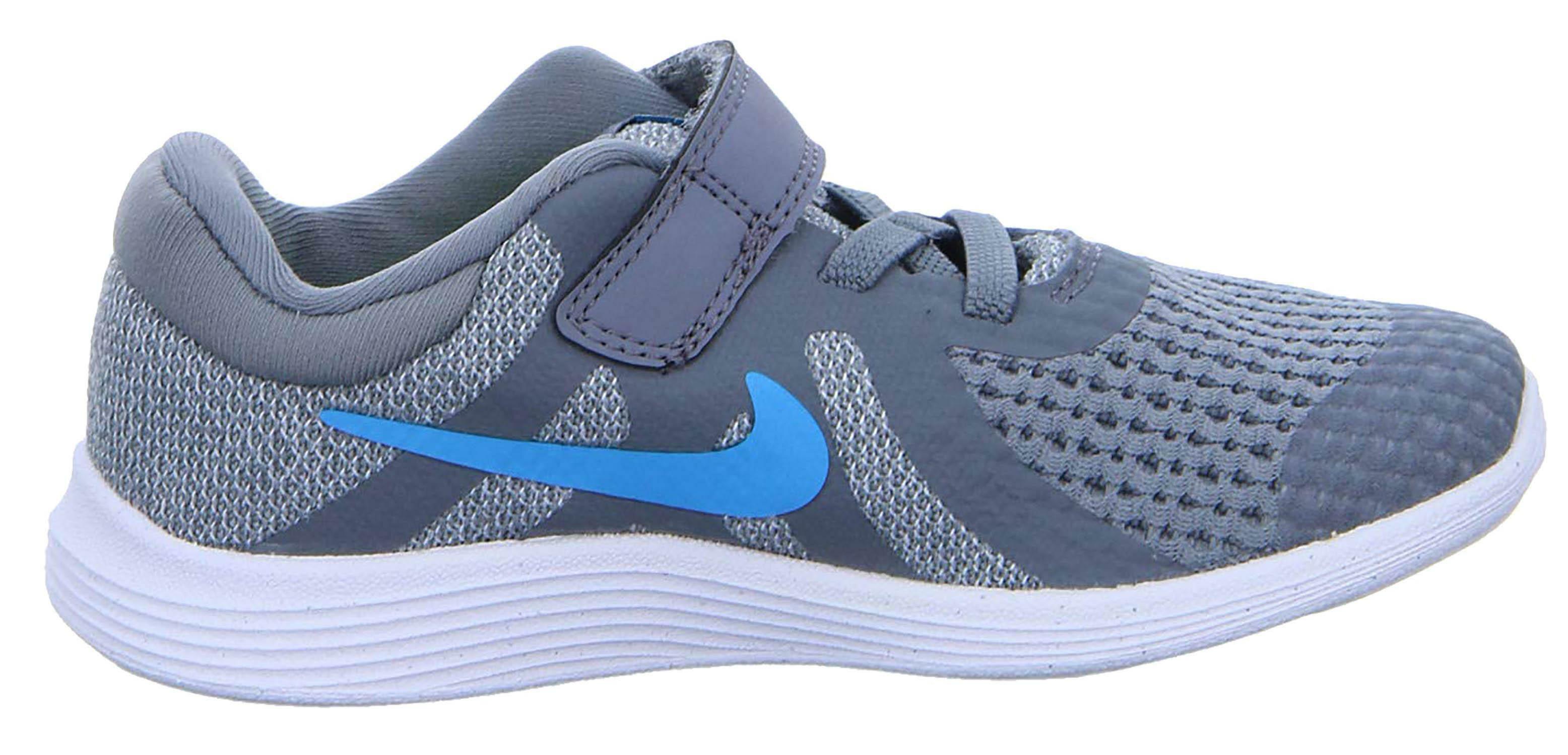 nike revolution 4 (tdv) scarpe sportive bambino grigie 943304014