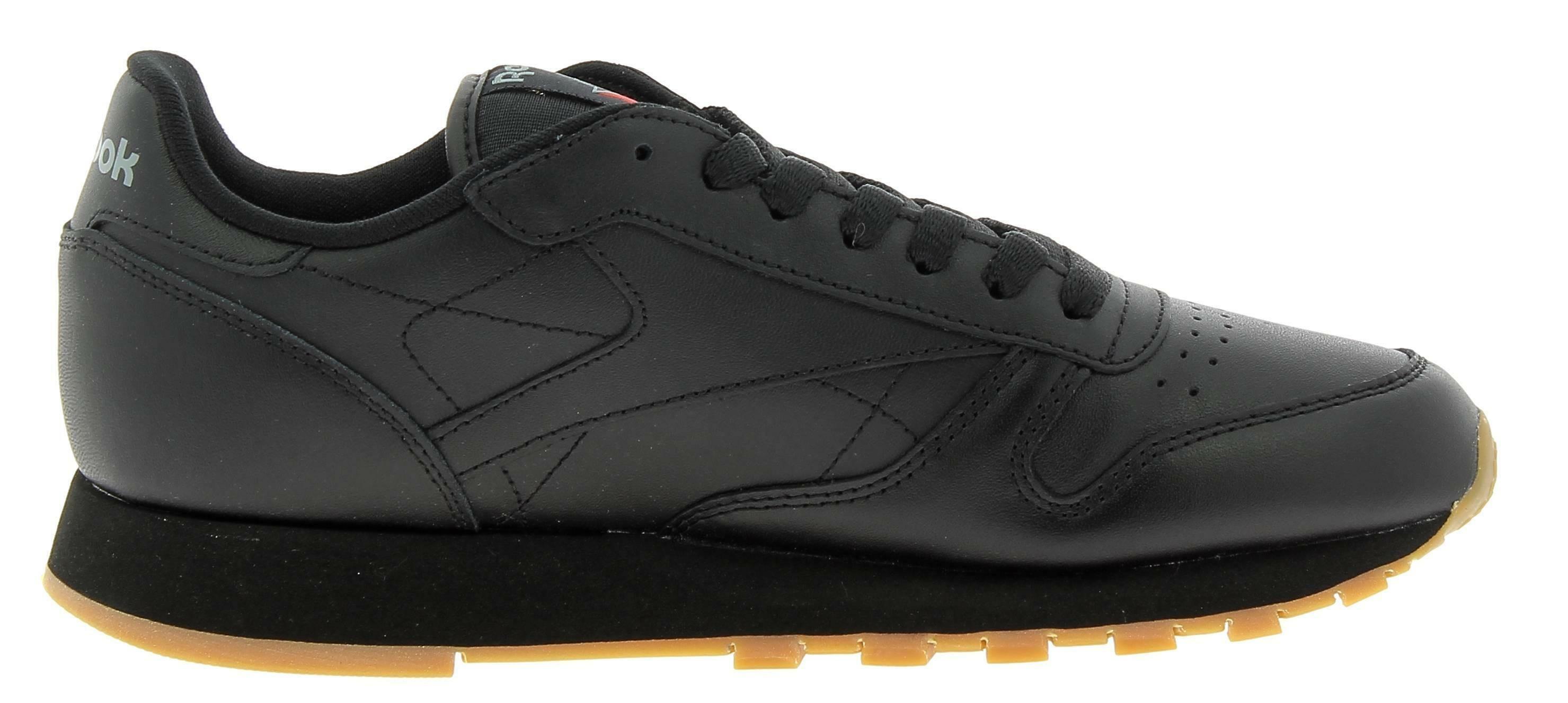 reebok classic leather scarpe sportive uomo nere