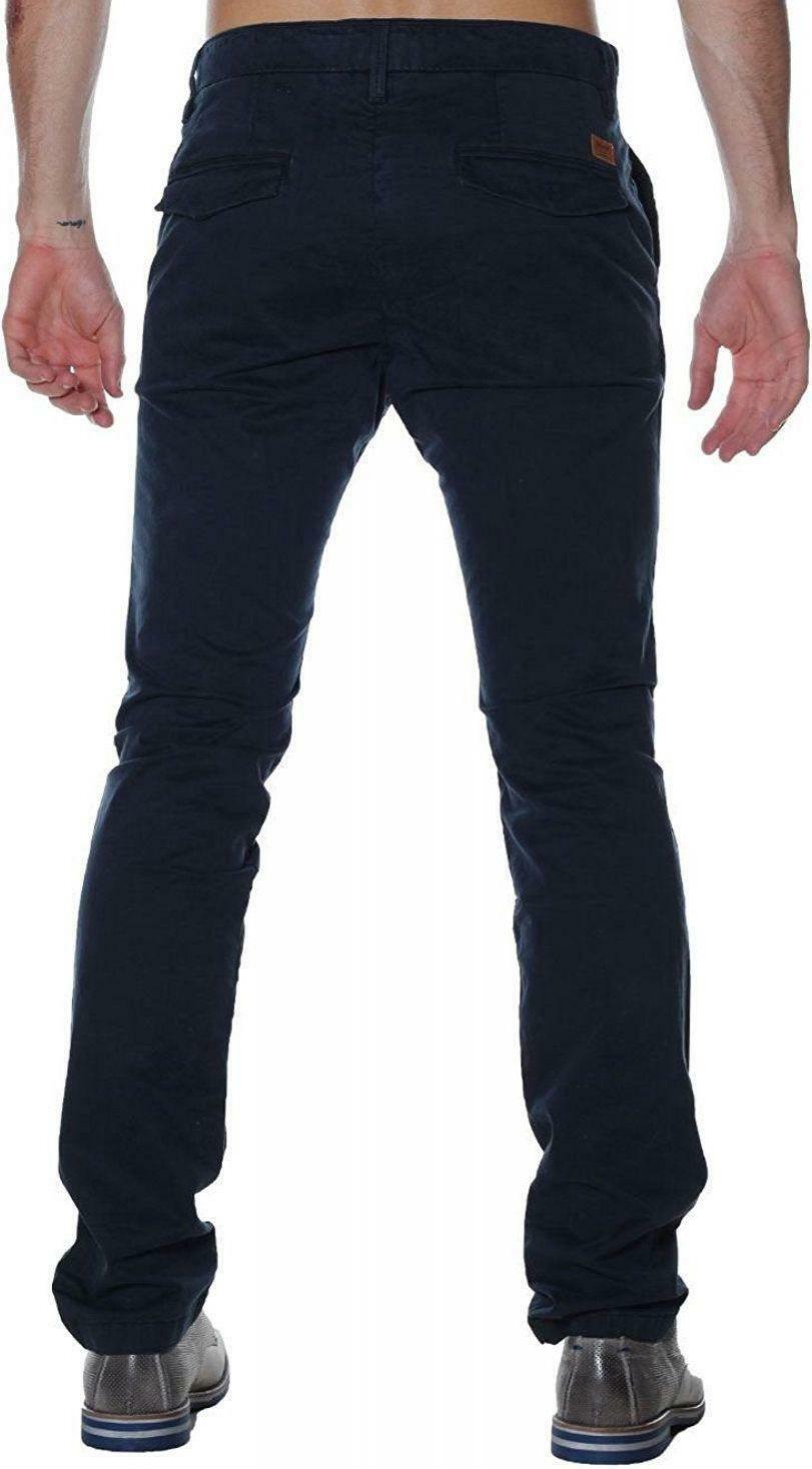 timberland timberland srgt lk slim sateen pantalone uomo blu
