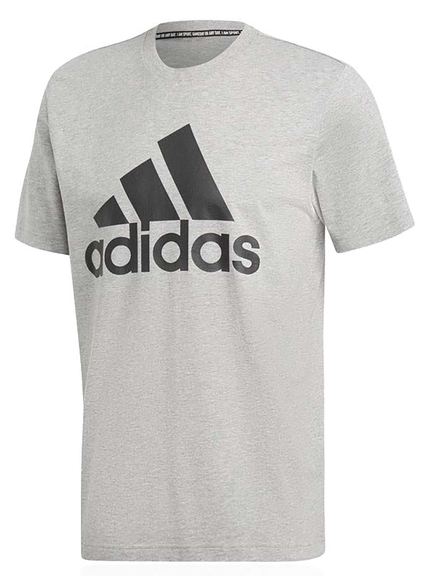 adidas mh bos tee t-shirt uomo grigia dt9930
