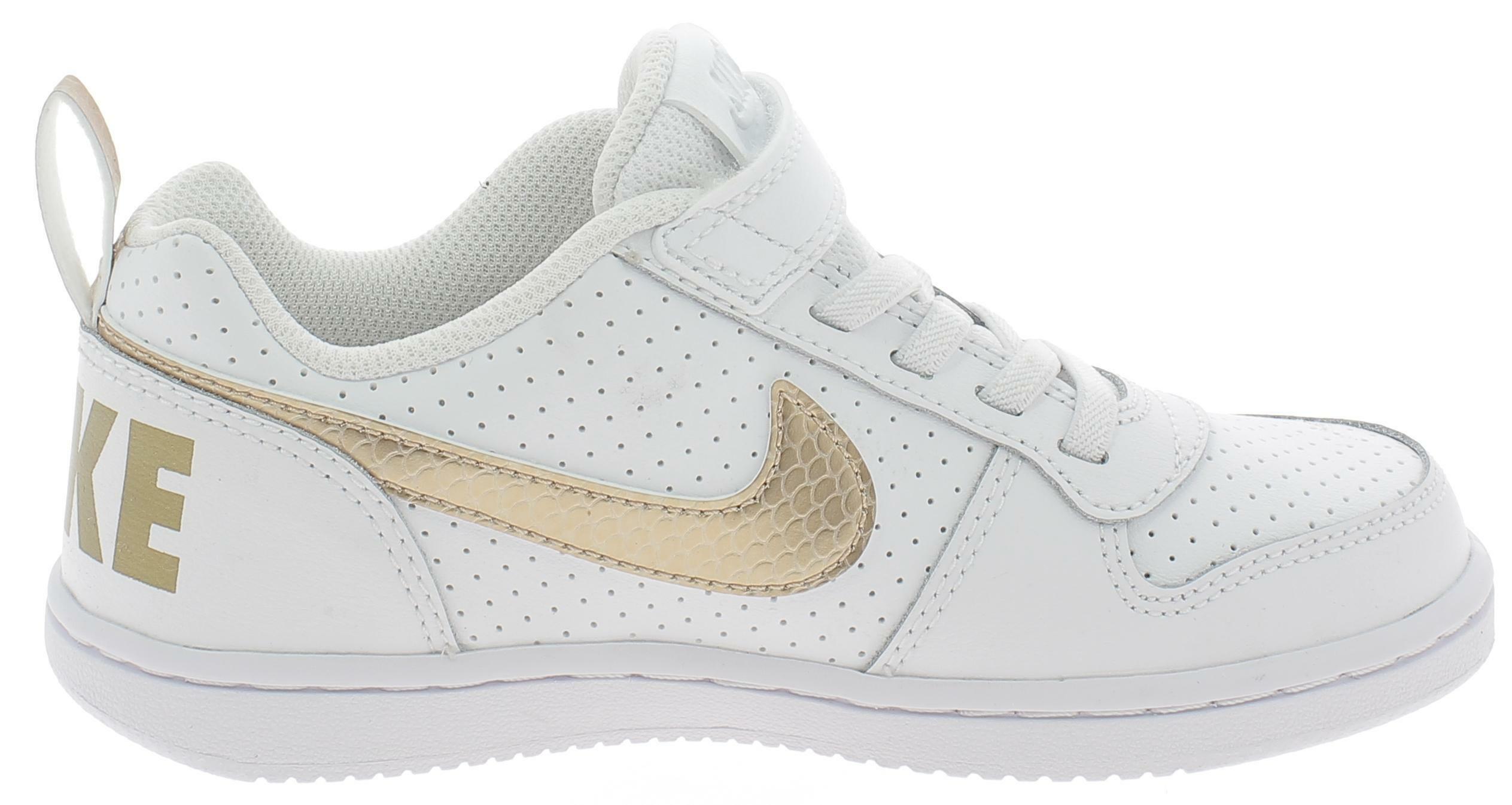 nike court borough low ep psv scarpe sportive bambina bianche bv0748100