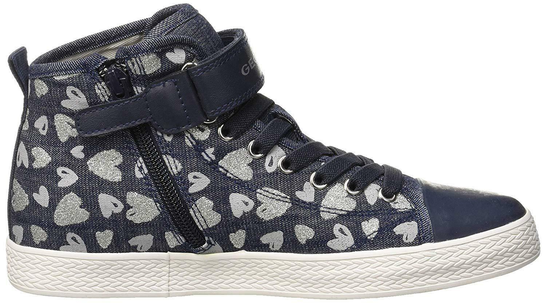 Geox j ciak scarpe sportive bambina blu j9204ac4138