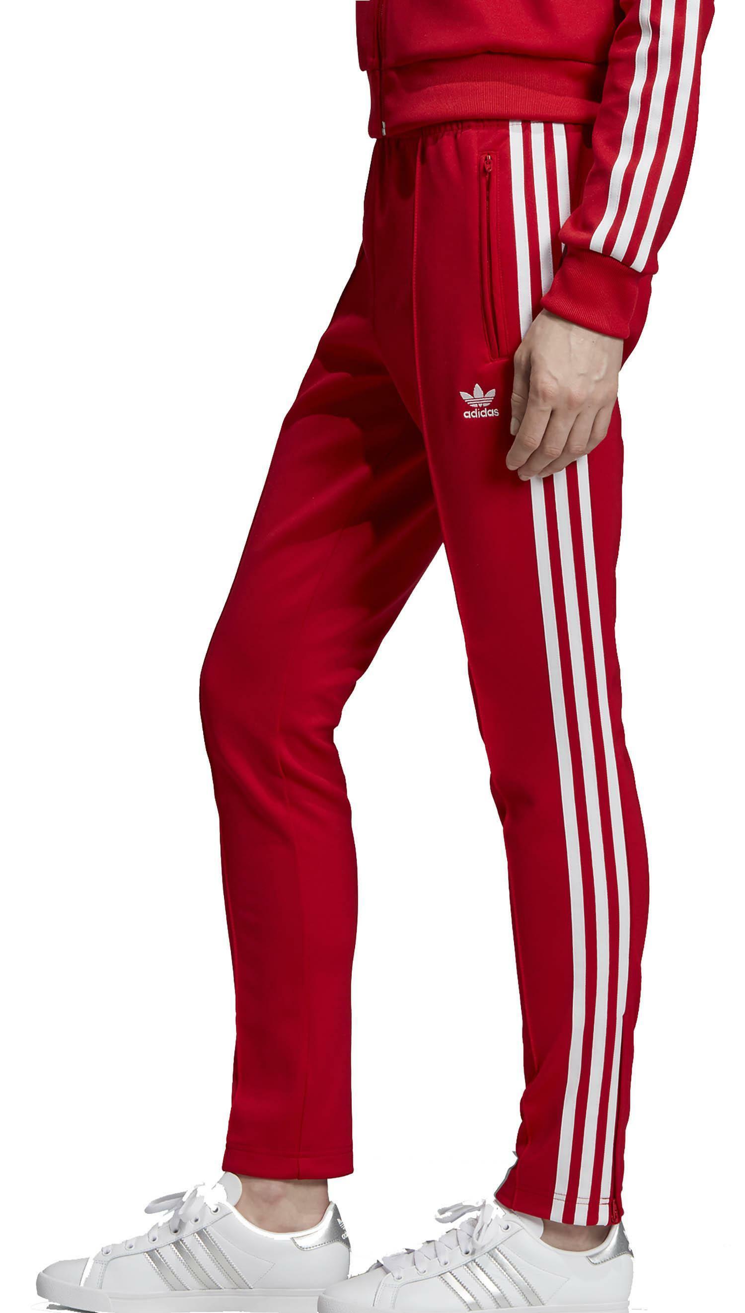 rote jogginghose adidas damen