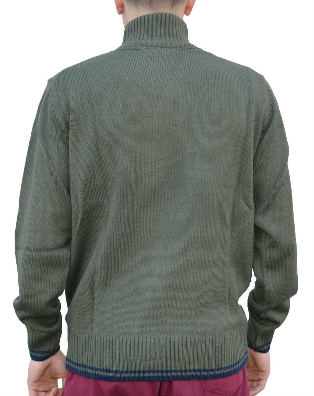 diadora diadora maglione uomo verde