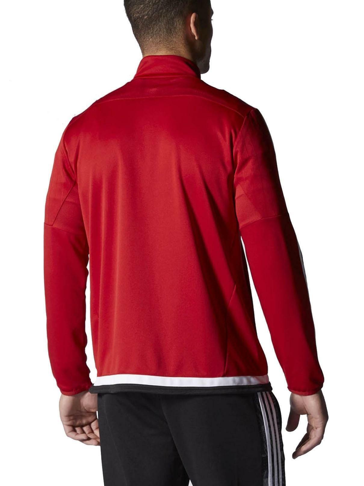 adidas adidas tiro15 trg giacchetto zip uomo rosso m64060