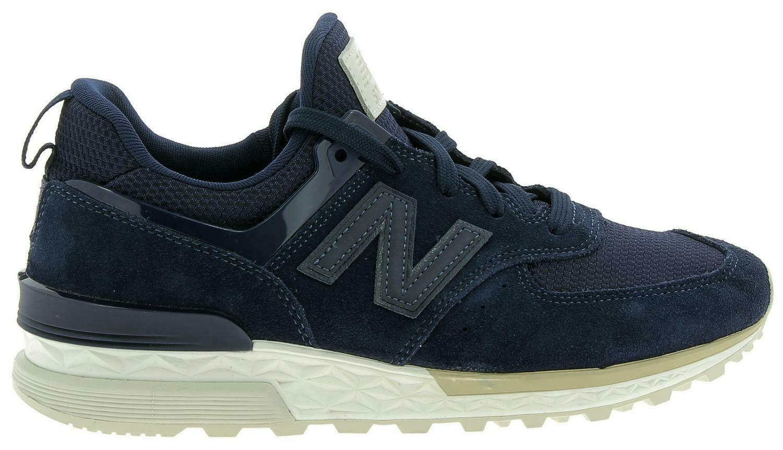 new balance 574 scarpe sportive uomo blu