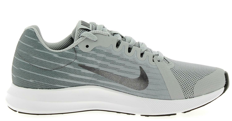 nike nike downshifter 8 gs scarpe sportive bambino grigie