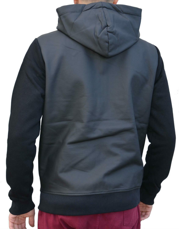 converse fleece track giacchetto uomo nero