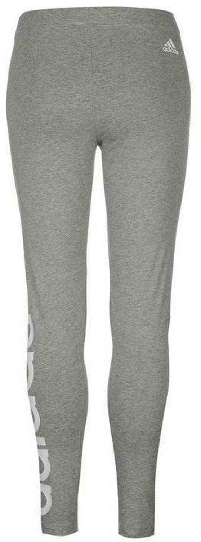 adidas linear leggings donna grigio
