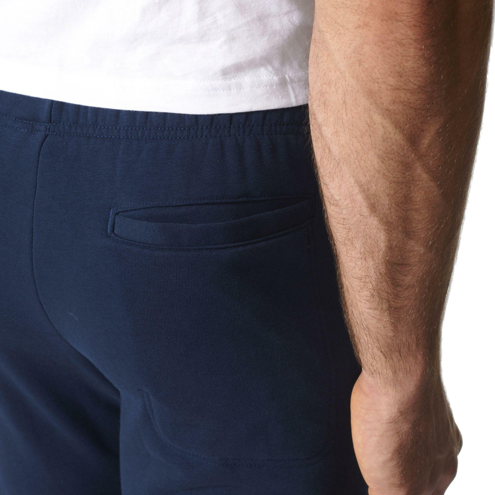 adidas adidas ess bl s pnt ft pantalone uomo blu bs4996