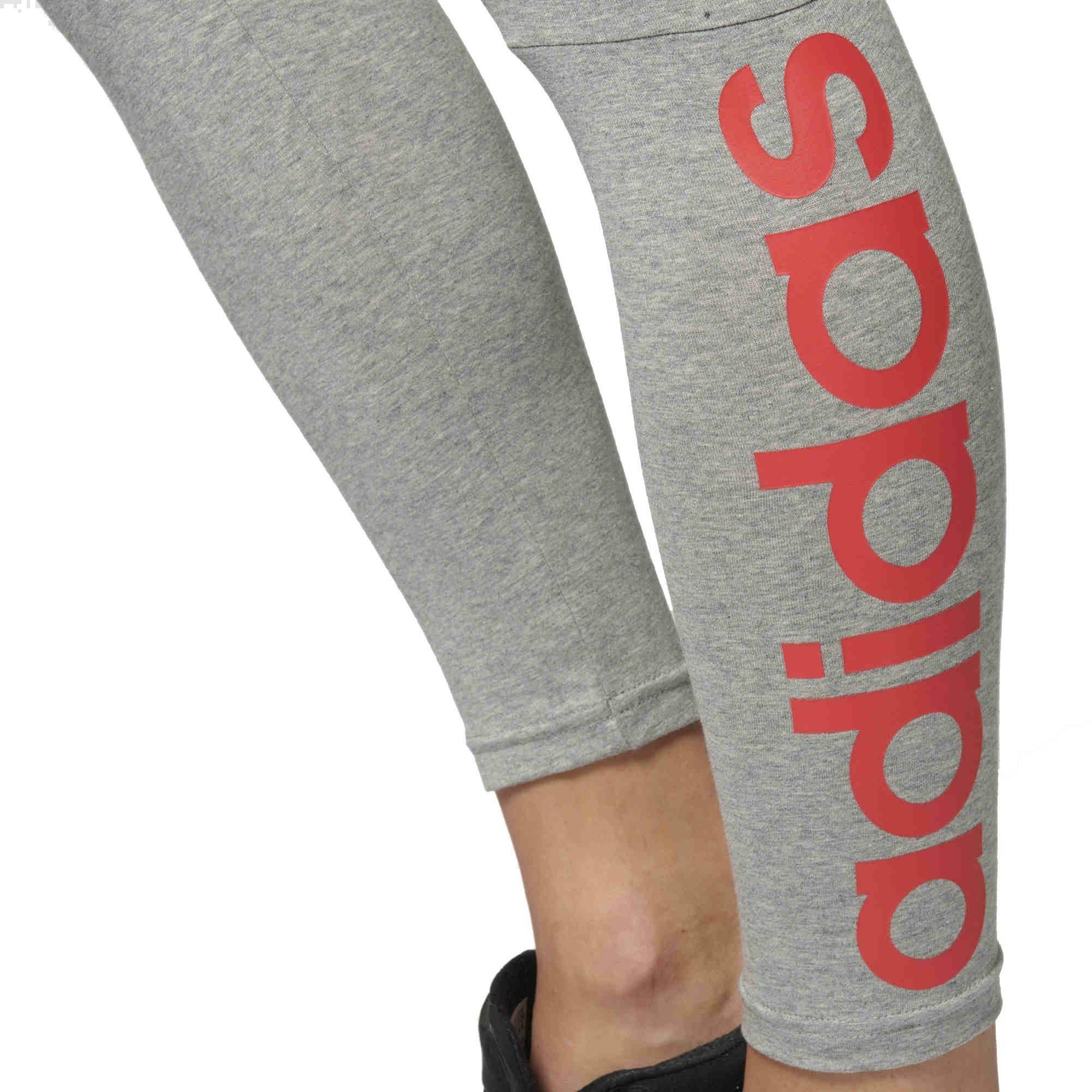 adidas ess lin tight leggings donna grigi br5960