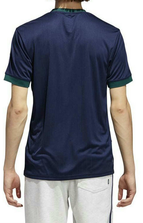 adidas adidas clima club jers tee t-shirt uomo blu