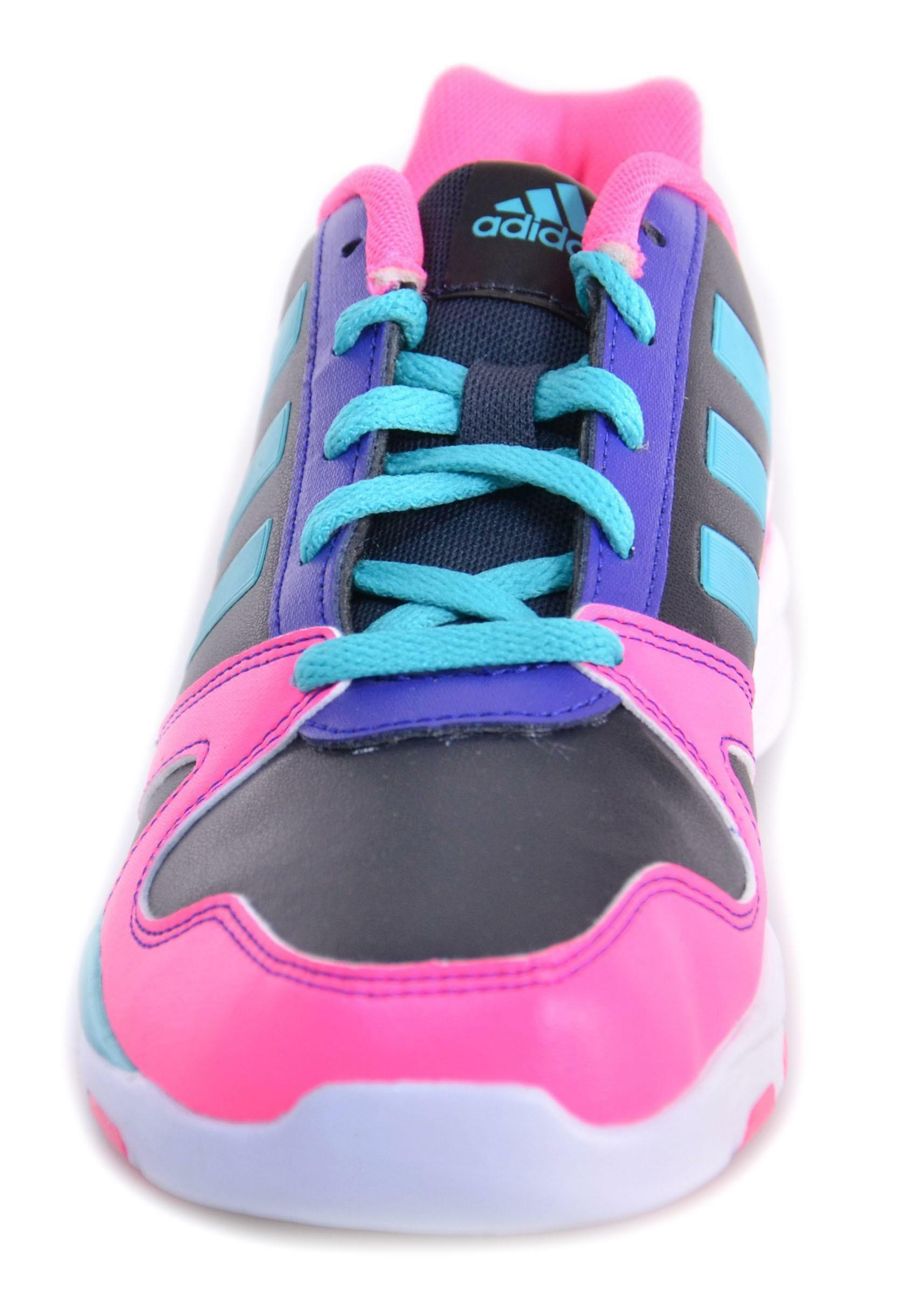 adidas adidas dance low k scarpe nere rosa pelle m20497