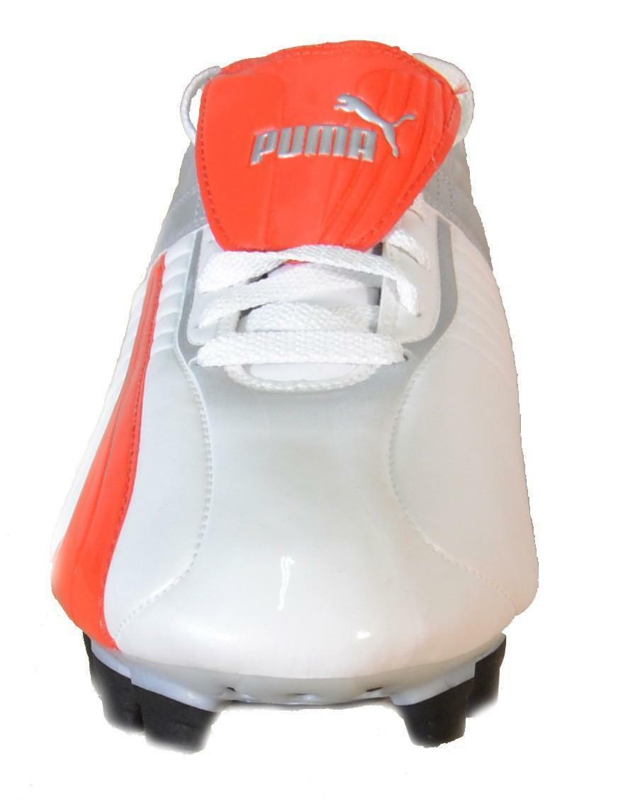 puma puma veneno i fg scarpini calcio bianchi pelle 100799