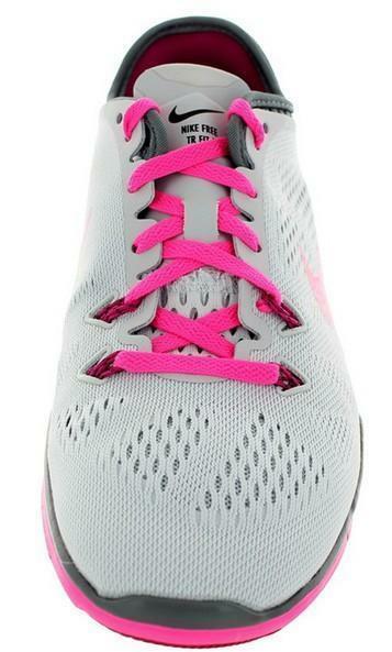 nike nike free 5.0 tr fit brthe scarpe sportive grigie tela 718932