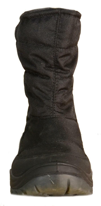 nogriffe nogriffe bamatex stivali uomo neri pelle tela pelliccia interna 22465