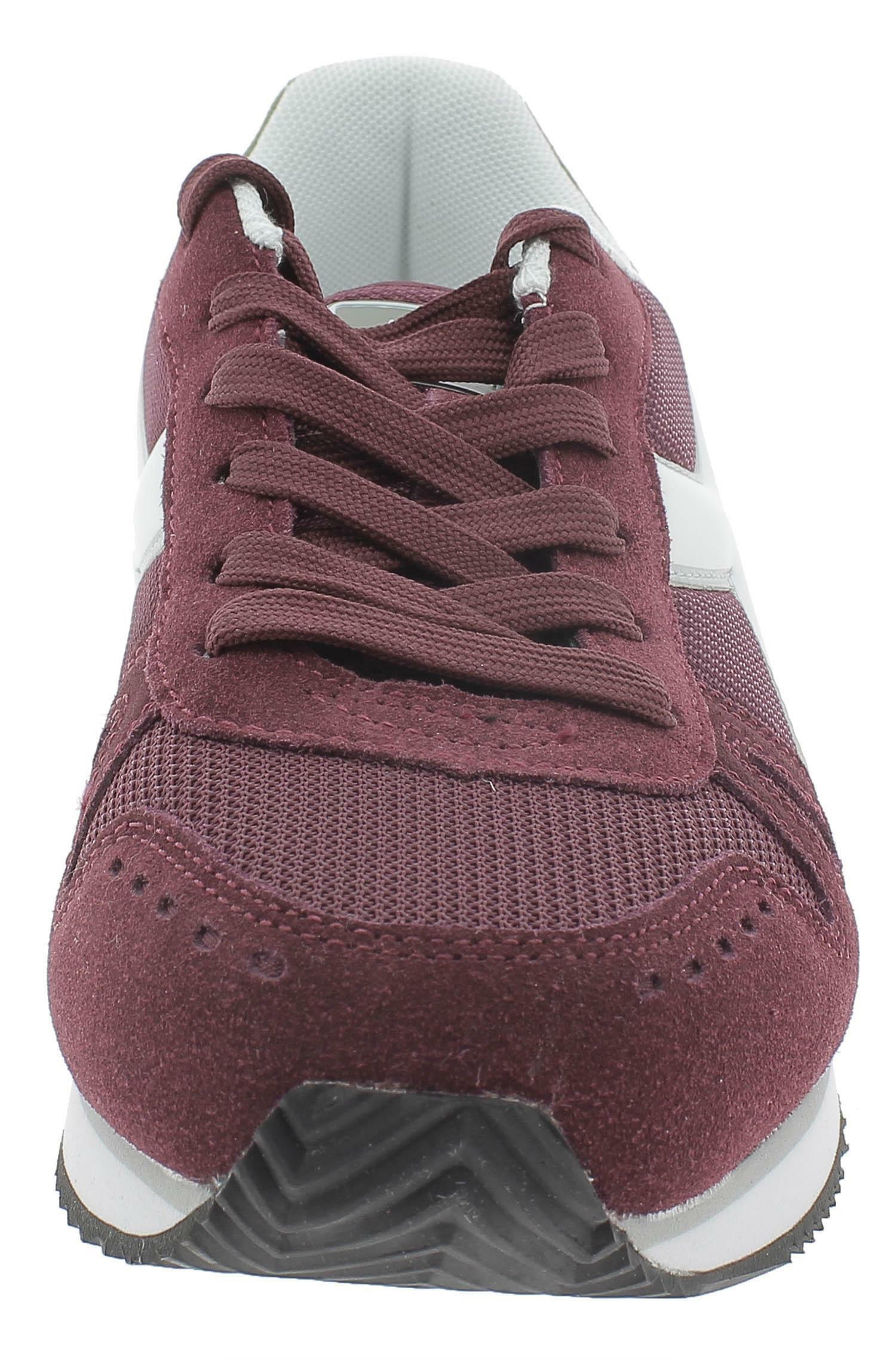 Diadora simple run scarpe sportive uomo bordeaux 17374555086