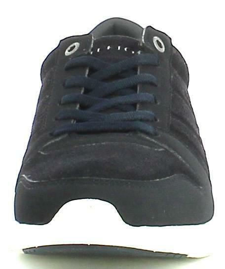 tommy hilfiger tommy hilfiger scarpe uomo pelle scamosciata blu
